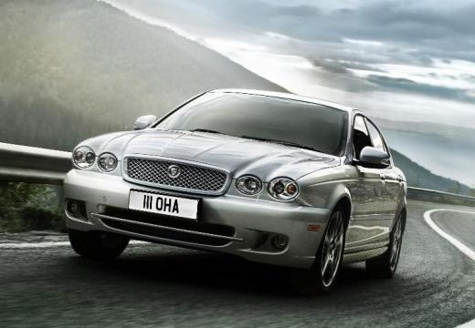 JAGUAR X-Type sedan silver grey przedni lewy