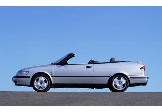 SAAB 9-3 kabriolet silver grey boczny lewy
