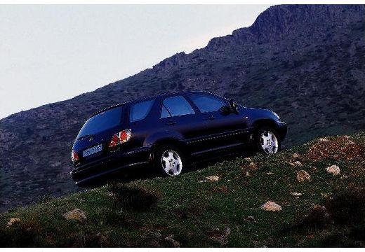 LEXUS RX 300 I kombi czarny tylny prawy