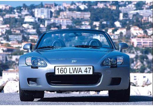 HONDA S 2000 I roadster silver grey przedni