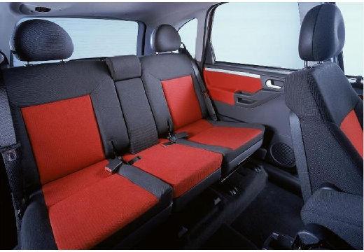 OPEL Meriva hatchback wnętrze
