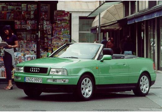 AUDI 80 Cabriolet 89 kabriolet zielony jasny przedni lewy