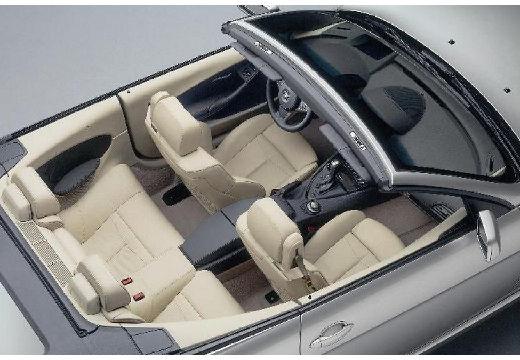 BMW Seria 6 Cabriolet E64 I kabriolet silver grey wnętrze