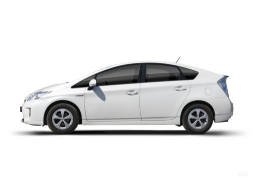 Toyota Prius III hatchback boczny lewy