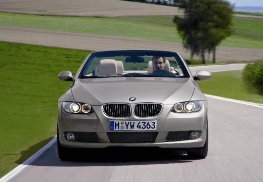 BMW Seria 3 kabriolet silver grey przedni