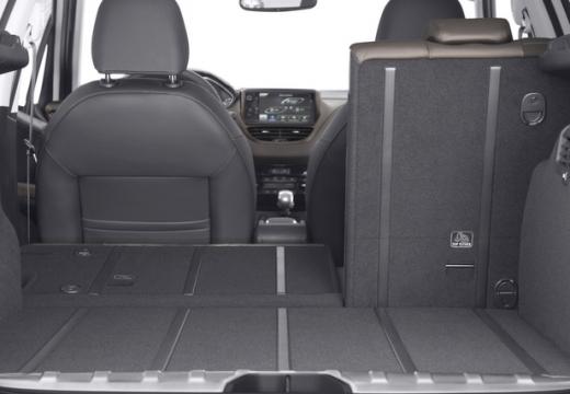 PEUGEOT 2008 hatchback przestrzeń załadunkowa