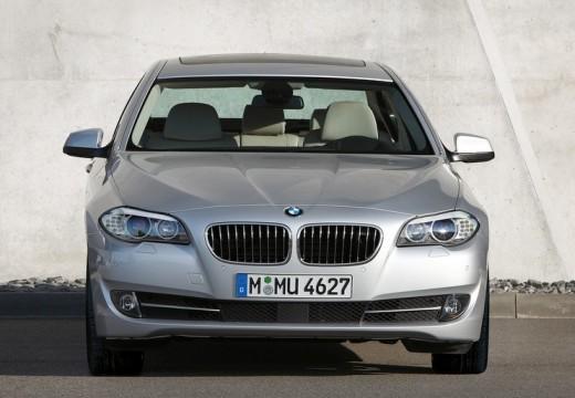 BMW Seria 5 F10 I sedan silver grey przedni