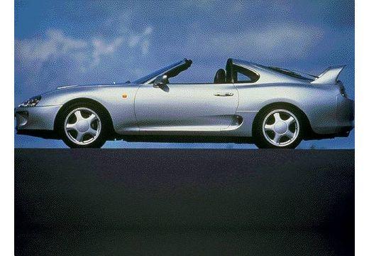 Toyota Supra I coupe silver grey boczny lewy