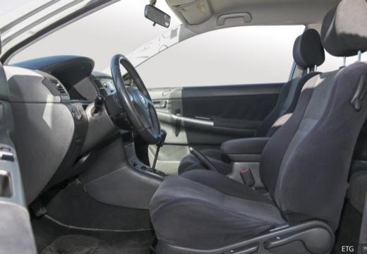 Toyota Corolla VI hatchback wnętrze