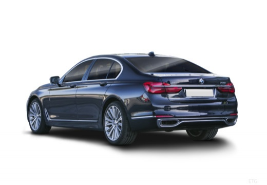 BMW Seria 7 sedan tylny lewy