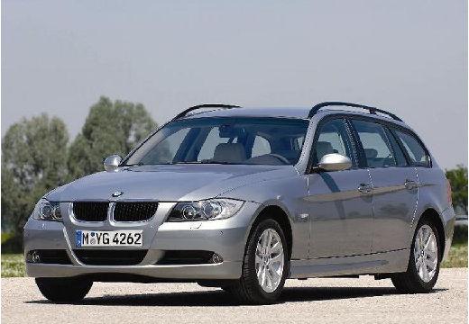 BMW Seria 3 Touring E91 I kombi silver grey przedni lewy