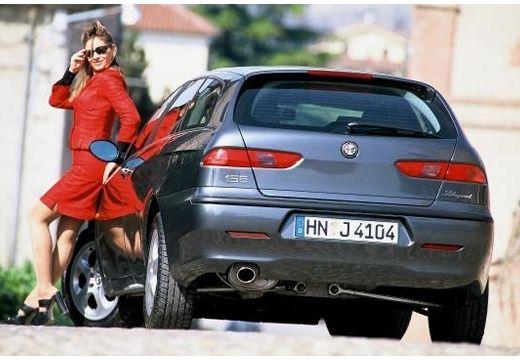 ALFA ROMEO 156 Sportwagon I kombi niebieski jasny tylny lewy