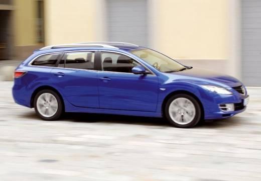 MAZDA 6 Sport III kombi niebieski jasny przedni prawy