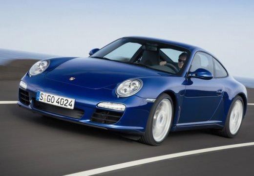 PORSCHE 911 997 coupe niebieski jasny przedni lewy