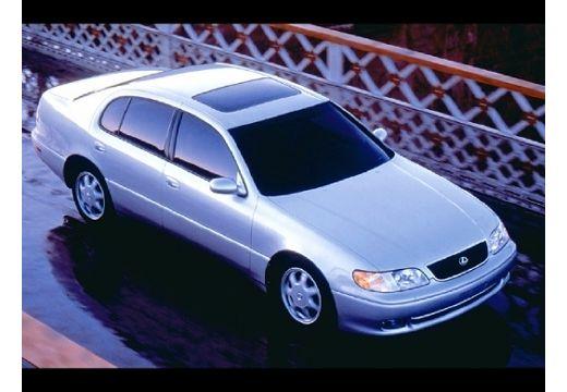 LEXUS GS 300 sedan silver grey przedni prawy