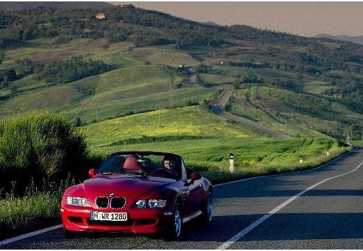 BMW Z3 roadster czerwony jasny przedni lewy