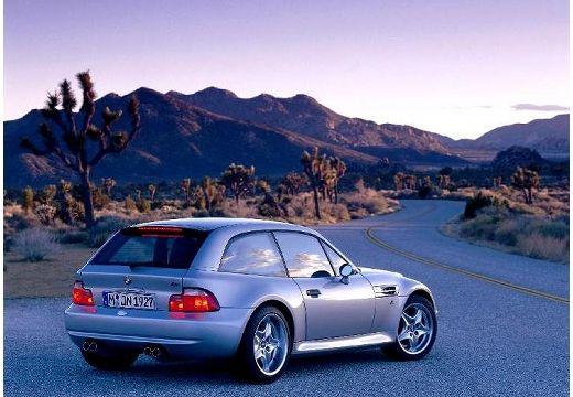BMW Z3 coupe silver grey tylny prawy