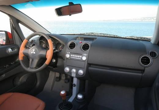 MITSUBISHI Colt kabriolet pomarańczowy tablica rozdzielcza