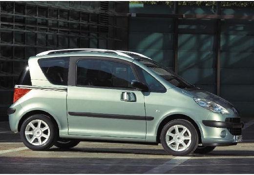 PEUGEOT 1007 hatchback szary ciemny przedni prawy