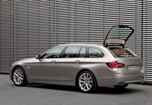BMW Seria 5 Touring F11 I kombi silver grey tylny lewy