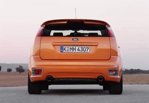 FORD Focus III hatchback pomarańczowy tylny