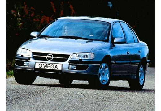 OPEL Omega sedan silver grey przedni lewy