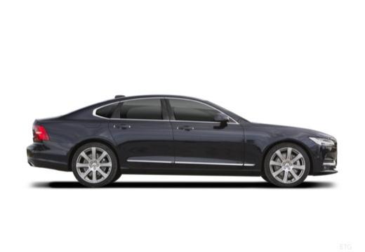 VOLVO S90 I sedan czarny boczny prawy