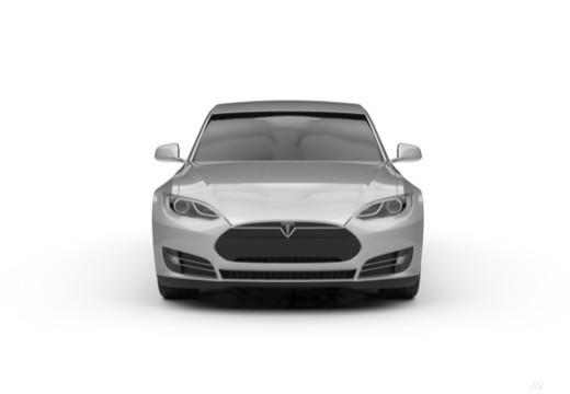 TESLA Model S I hatchback przedni