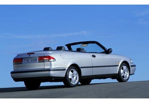 SAAB 9-3 Cabriolet I kabriolet silver grey tylny prawy