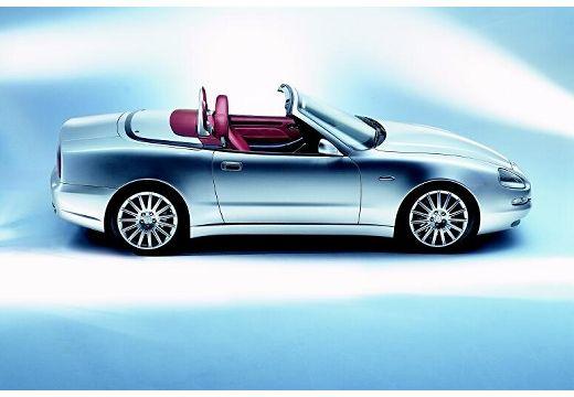 MASERATI 4200 Spyder roadster silver grey boczny prawy