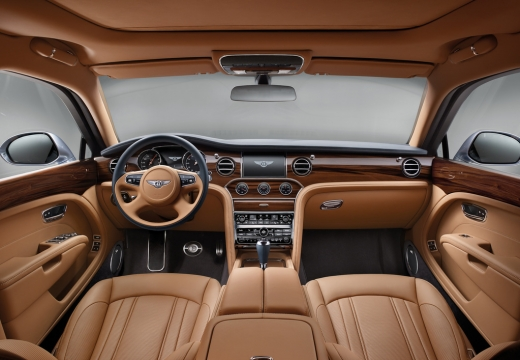 BENTLEY Mulsanne sedan tablica rozdzielcza