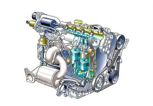 RENAULT Laguna II I hatchback silnik