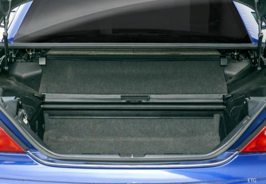 MERCEDES-BENZ Klasa SLK SLK R 170 kabriolet przestrzeń załadunkowa