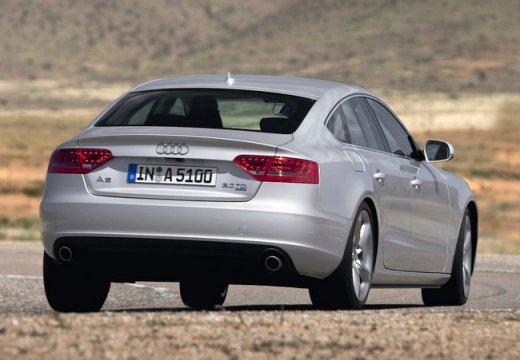 AUDI A5 hatchback silver grey tylny prawy