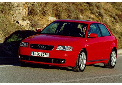 AUDI A3 /S3 8L I hatchback czerwony jasny przedni lewy
