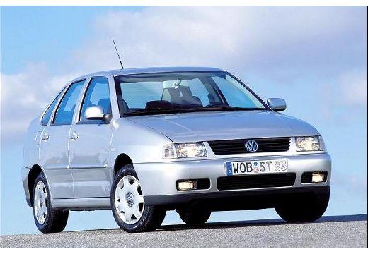 VOLKSWAGEN Polo III Classic II sedan silver grey przedni prawy