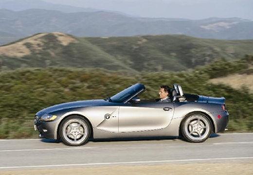 BMW Z4 roadster szary ciemny boczny lewy