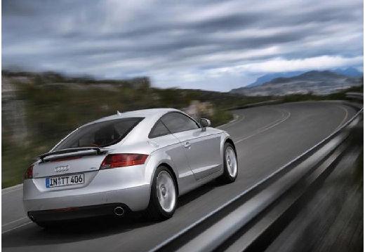 AUDI TT I coupe silver grey tylny prawy
