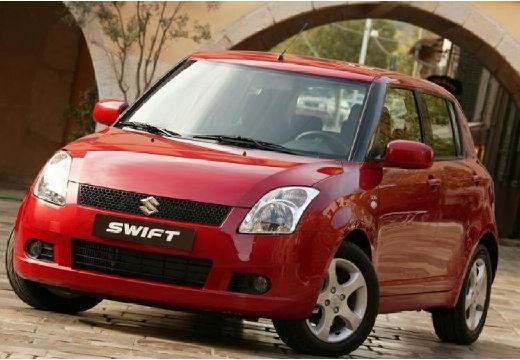 SUZUKI Swift I hatchback czerwony jasny przedni lewy