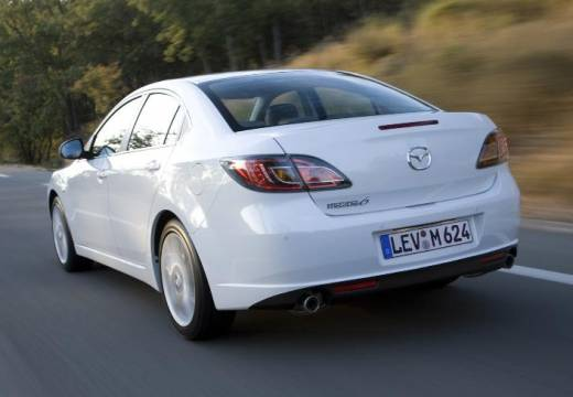 MAZDA 6 III sedan biały tylny lewy