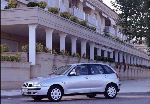 SEAT Ibiza III hatchback silver grey przedni lewy
