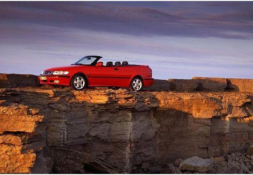 SAAB 9-3 Cabriolet I kabriolet czerwony jasny przedni lewy