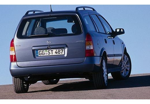 OPEL Astra II Classic kombi niebieski jasny tylny prawy