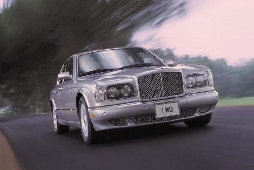 BENTLEY Arnage sedan silver grey przedni prawy
