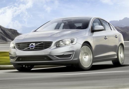 VOLVO S60 sedan silver grey przedni lewy
