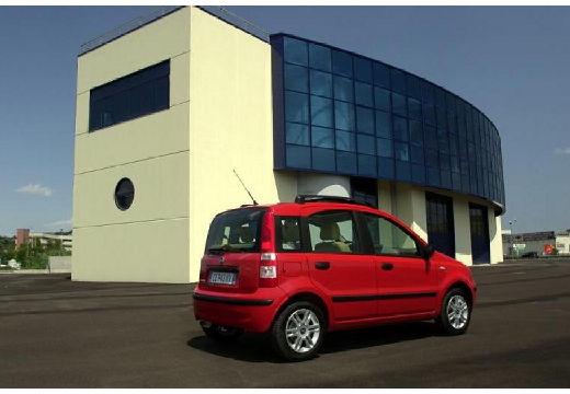 FIAT Panda II hatchback czerwony jasny tylny prawy