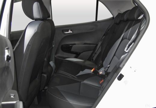 KIA Picanto hatchback wnętrze
