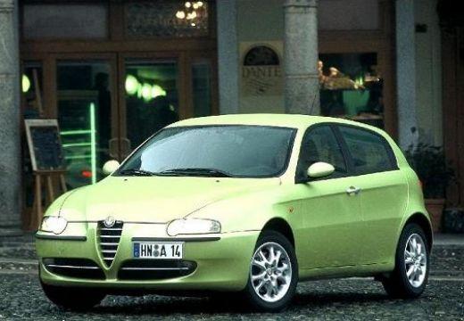 ALFA ROMEO 147 I hatchback zielony przedni prawy