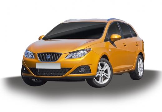 SEAT Ibiza kombi pomarańczowy