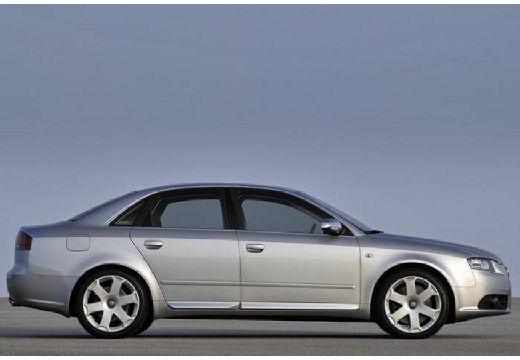AUDI A4 8E II sedan silver grey boczny prawy